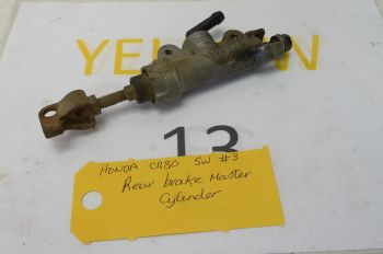 HONDA CR80 BIG WHEEL   REAR BRAKE MASTER CYLINDER  #3(CON-A)